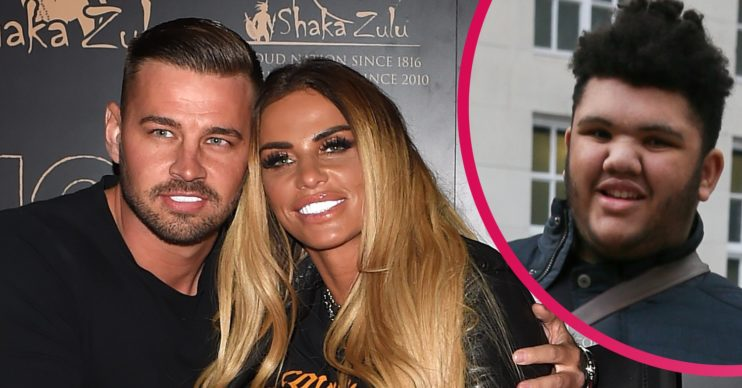 Katie Price Carl Woods Harvey dog