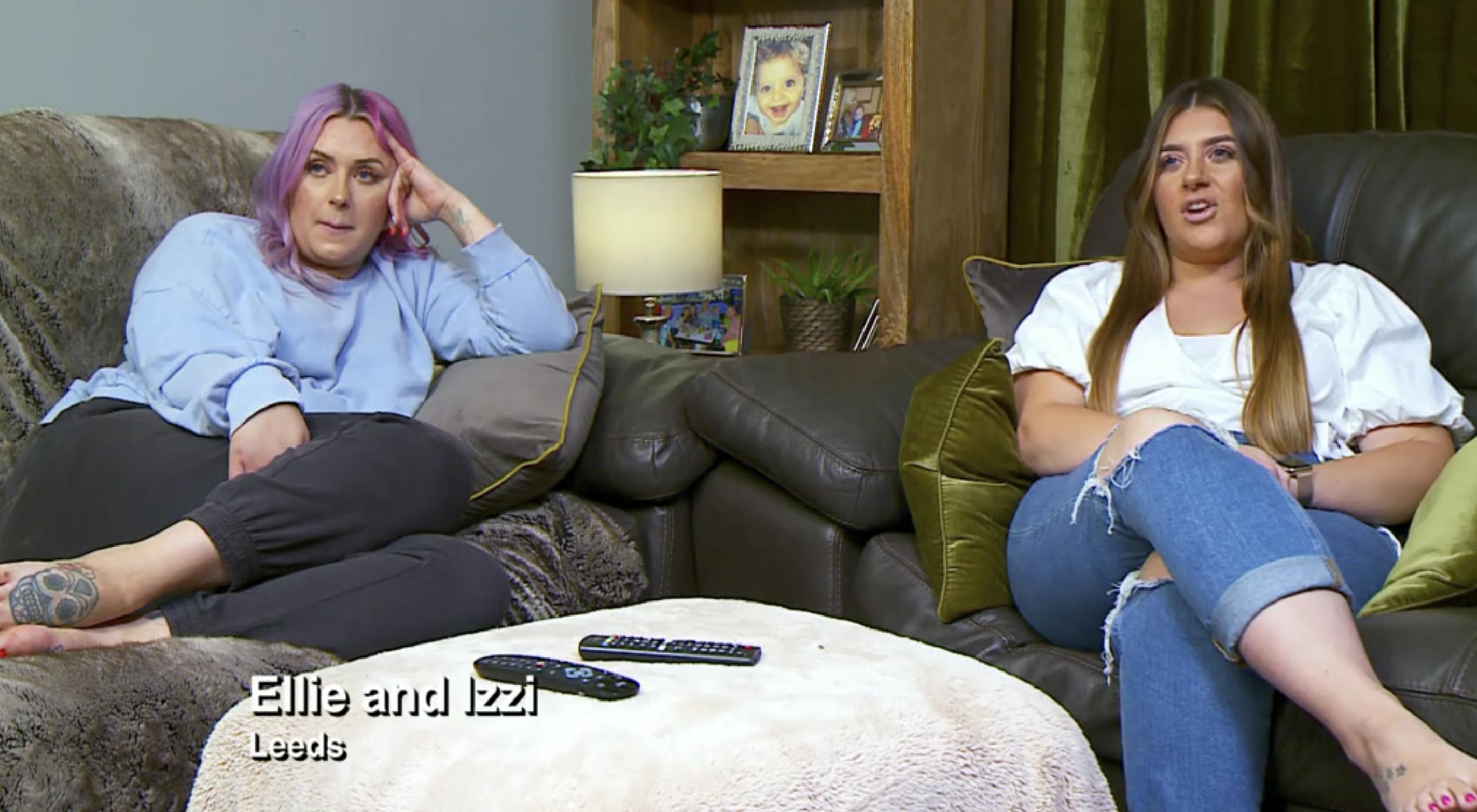 Ellie and Izzi