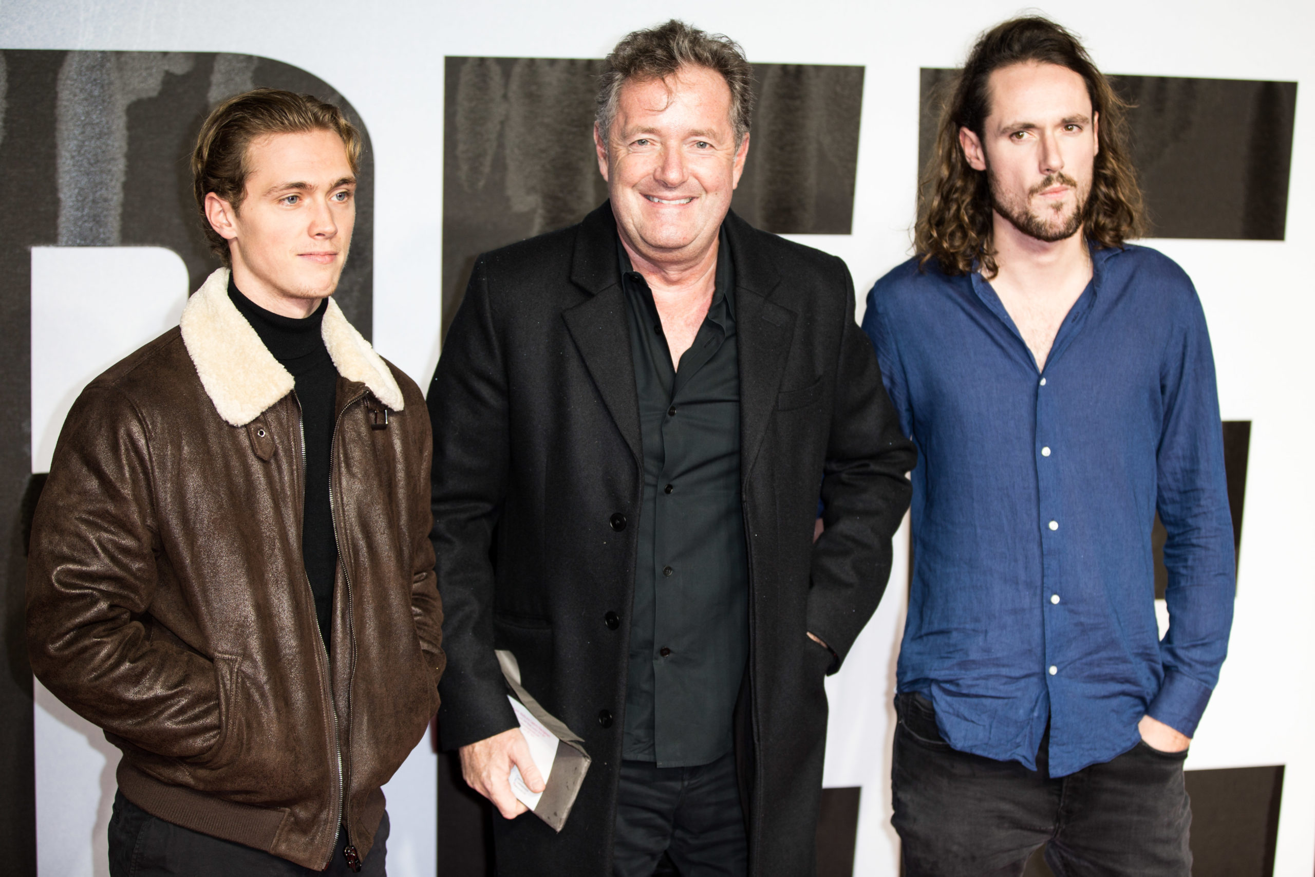 Piers Morgan with sons