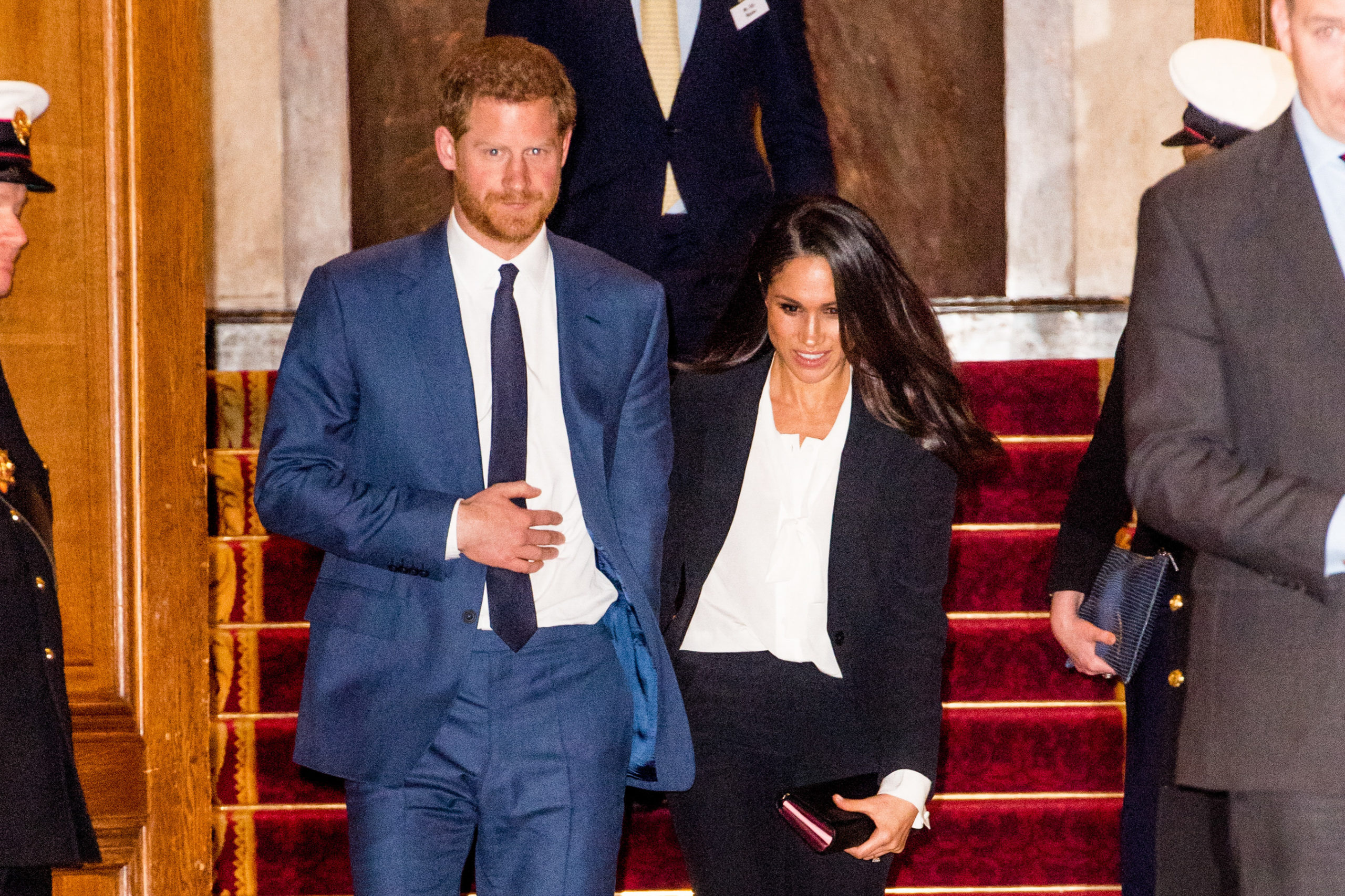 Prince Harry and Meghan stepped down from royal duties