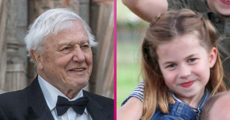 David Attenborough Princess Charlotte