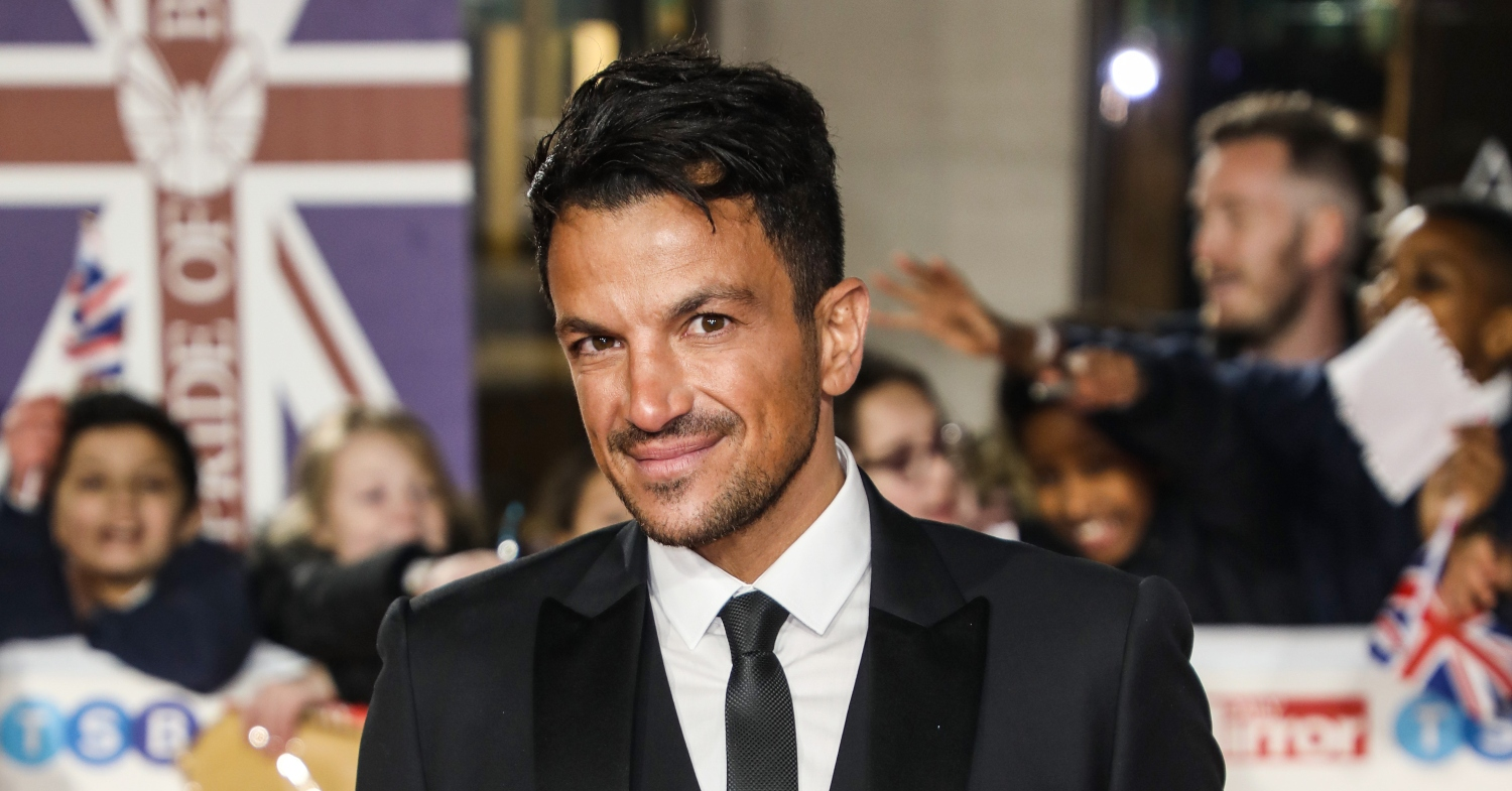 Proud dad Peter Andre praised son Theo for his piano skills