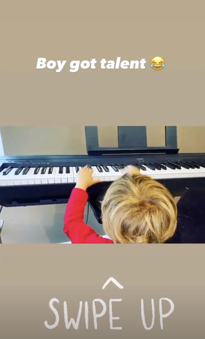 peter andre instagram story