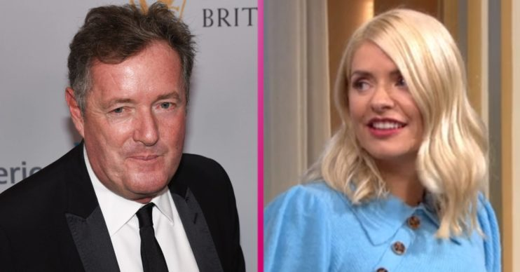 Piers Morgan Holly Willoughby