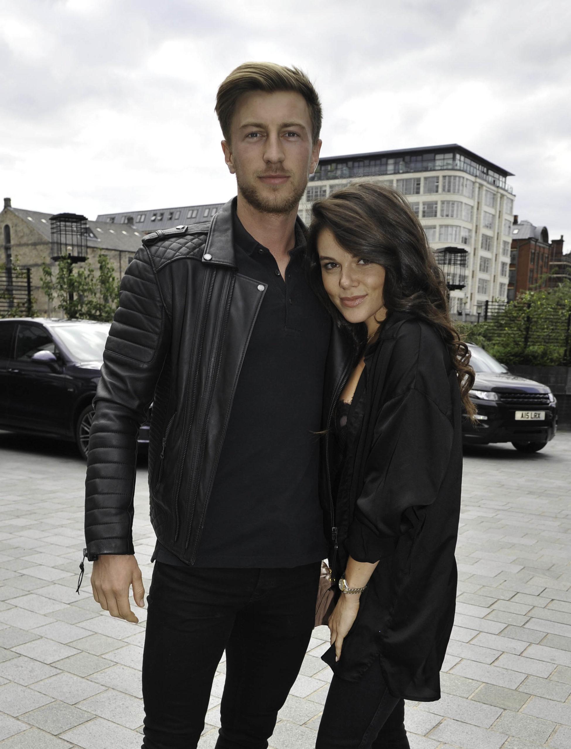 Faye Brookes and boyfriend Joe Davise