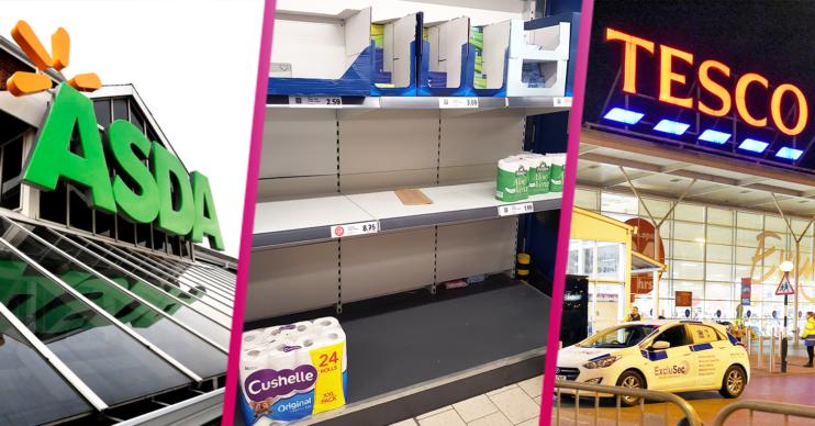 supermarkets panic buying