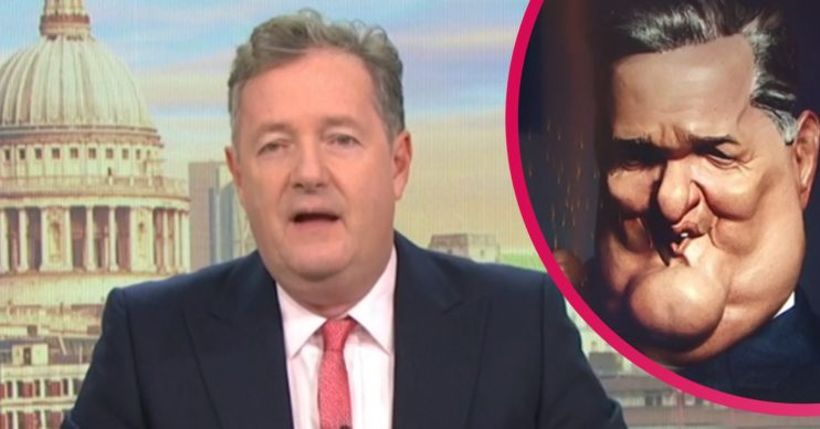 Piers Morgan Spitting Image puppet GMB