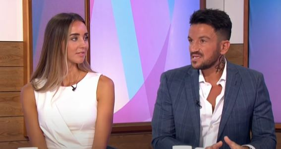 Emily and Peter Andre