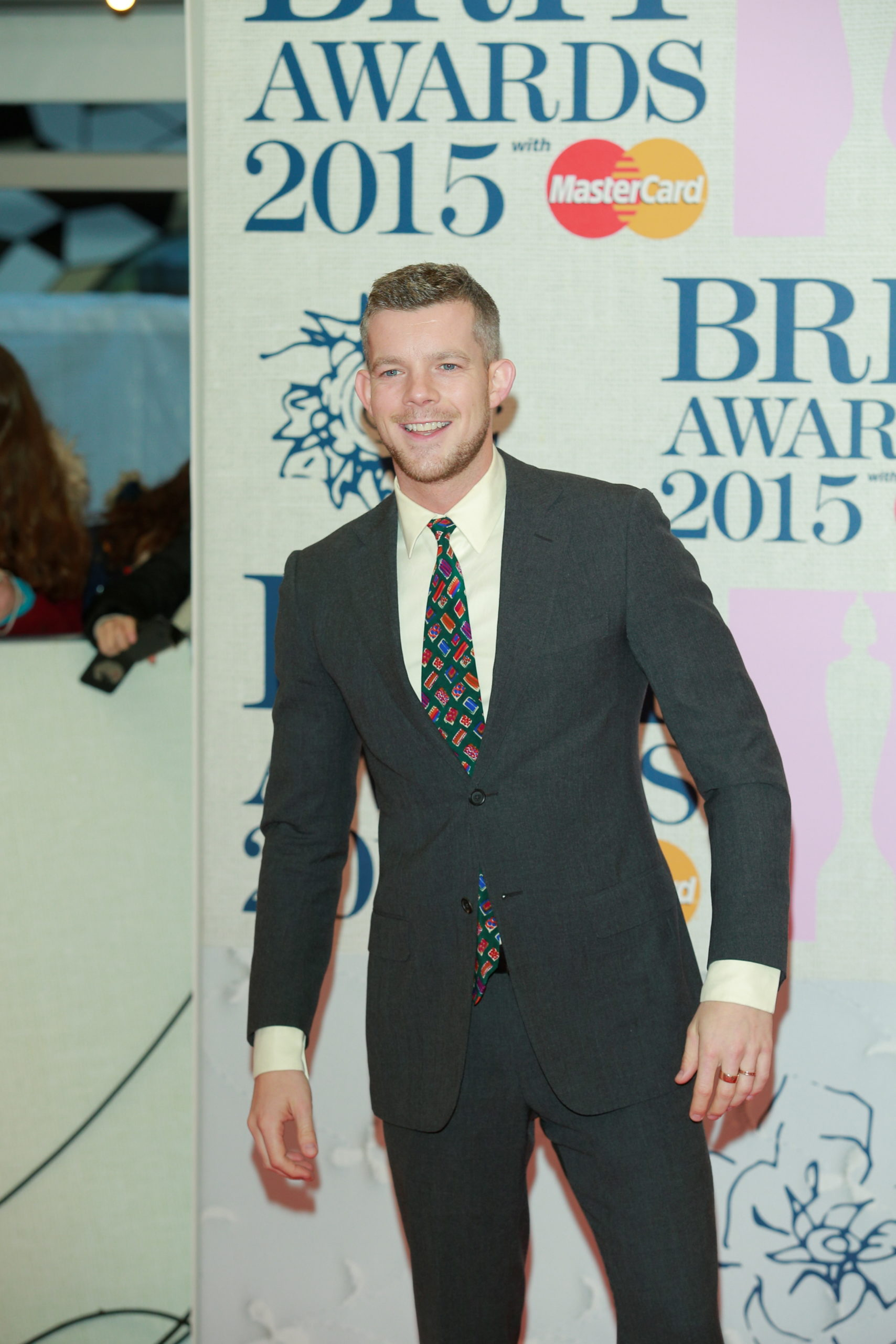 Russell Tovey at Brit Awards 2015