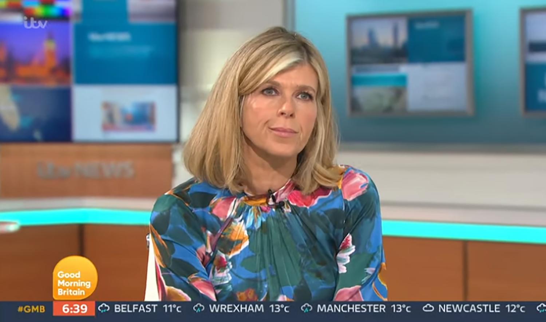 Kate Garraway on GMB speaking about husband