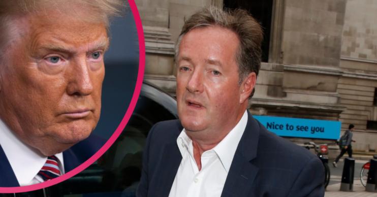 Piers Morgan Trump coronavirus