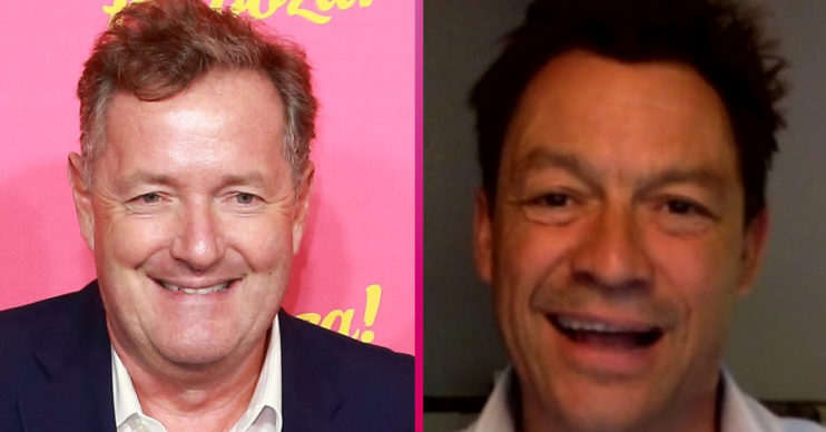 Piers Morgan and Dominic West