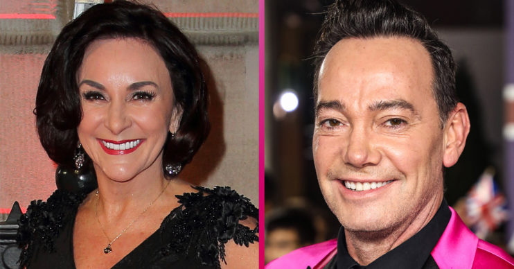 Shirley Ballas and Craig Revel Horwood