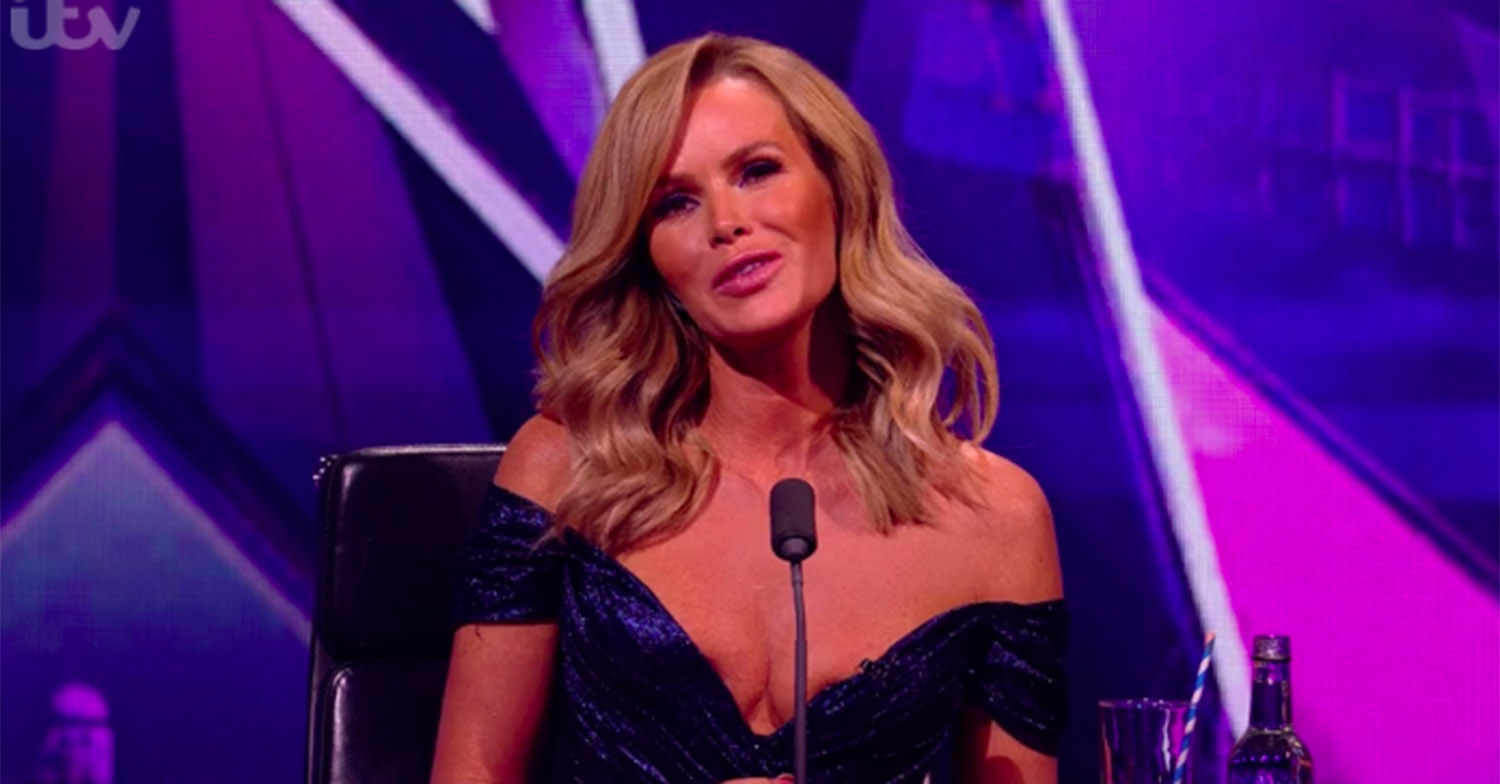 amanda holden cleavage