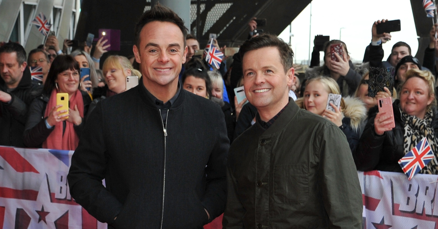 Ant and Dec I'm A Celebrity axe