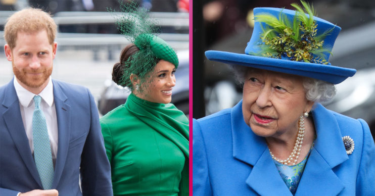 Prince Harry Meghan Christmas with Queen