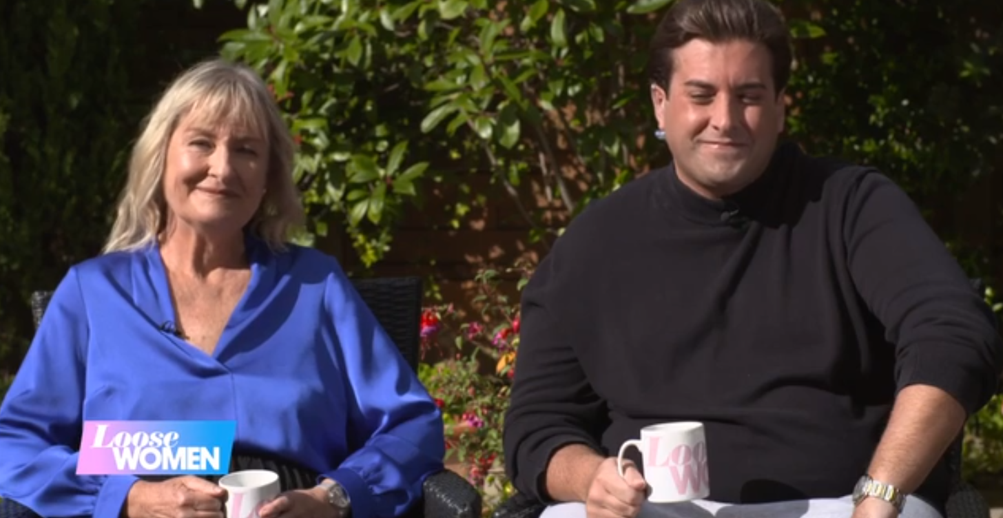 James Argent on Loose Women