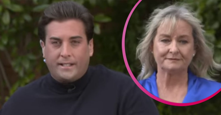 James Argent and mum on Loose Women