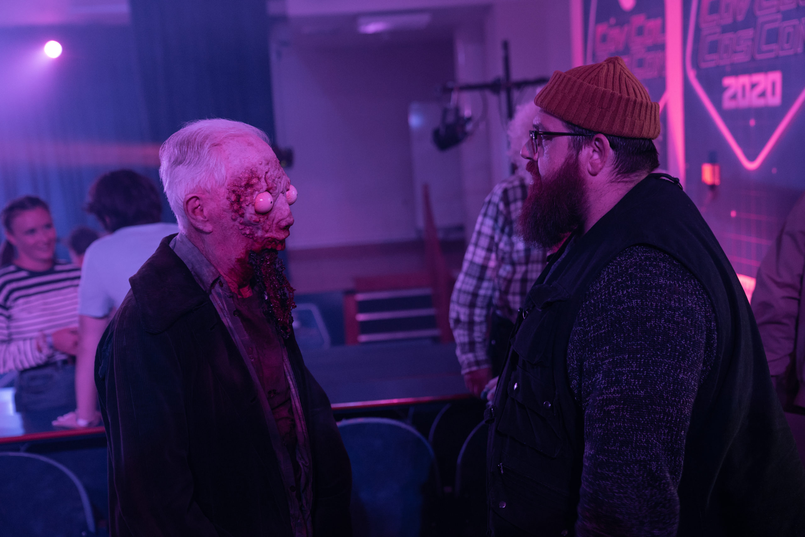 Nick Frost as Gus Roberts in Truth Seekers (Credit: Amazon Prime)