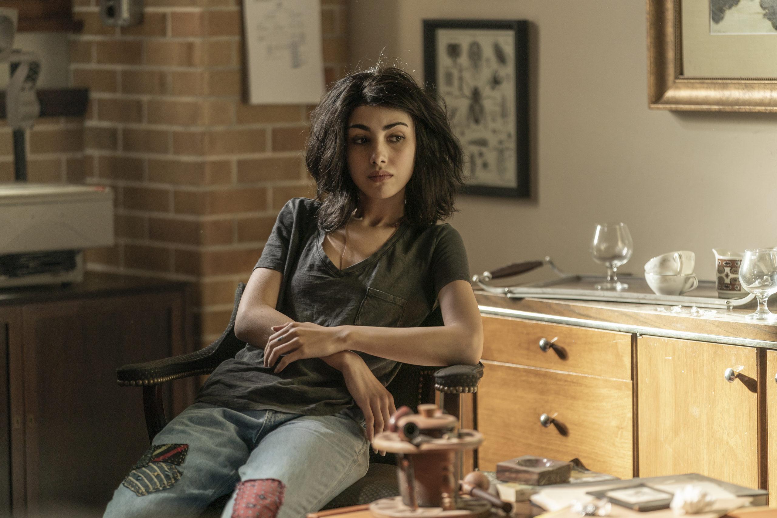 Alexa Mansour as Hope - The Walking Dead: World Beyond _ Season 1, Episode 1 - Photo Credit: Zach Dilgard/AMC