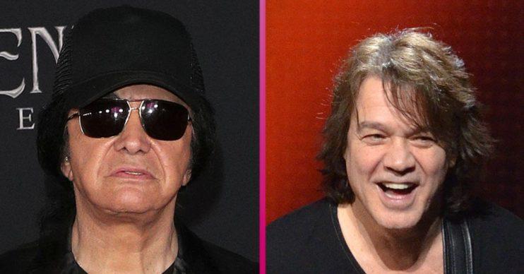 Gene Simmons Eddie Van Halen (1)