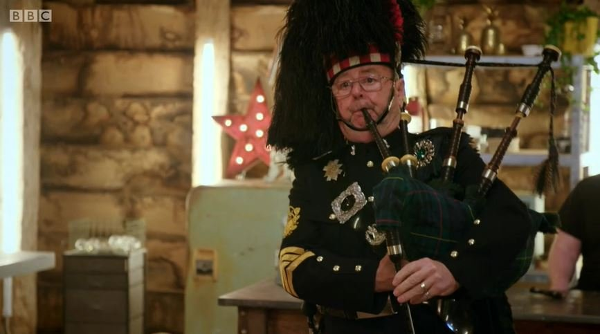 The Repair Shop bagpipes