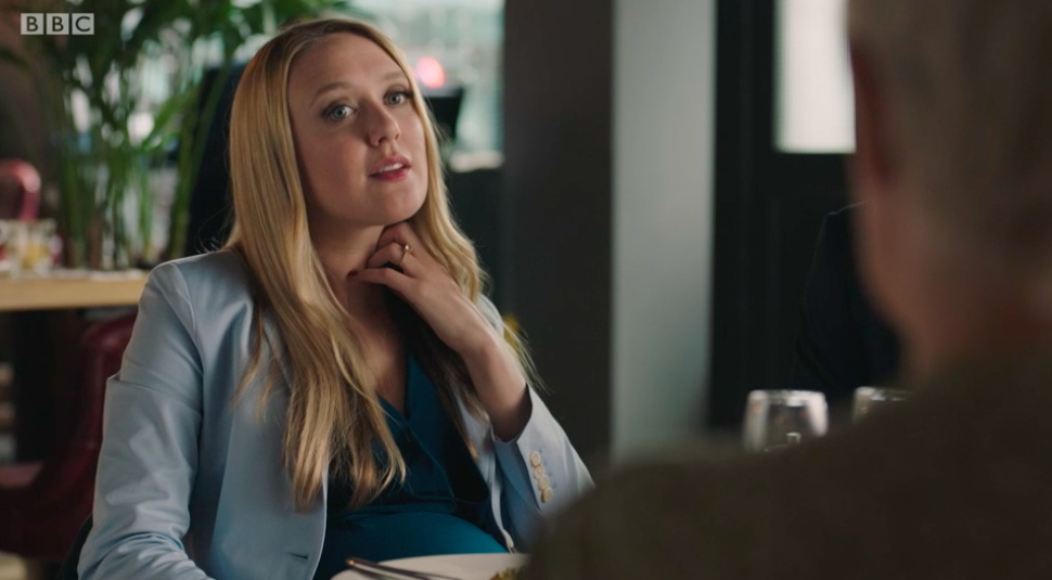 Emily Head as Julia in Life on BBC One