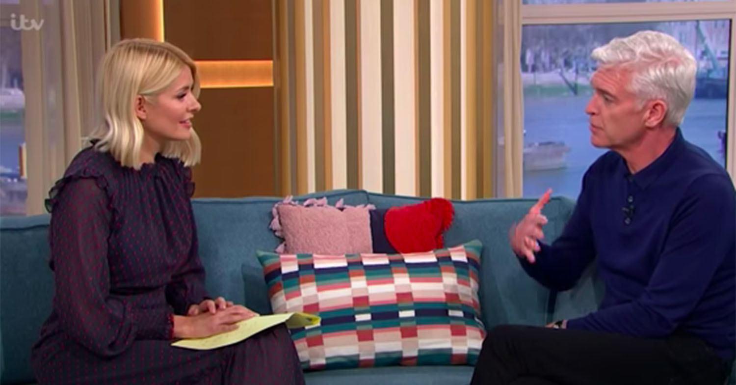 phillip schofield this morning february