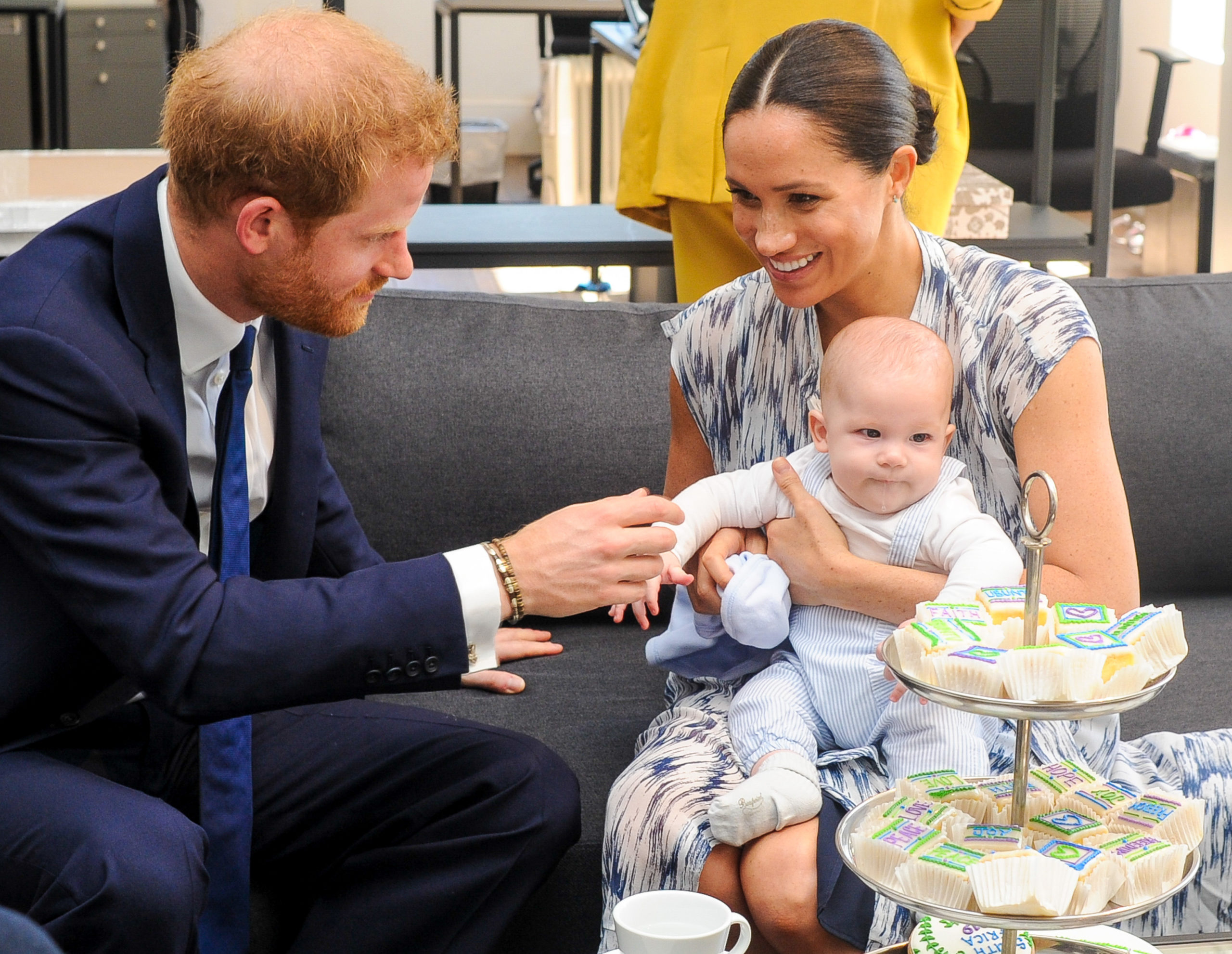 Prince Harry Meghan Markle and Archie