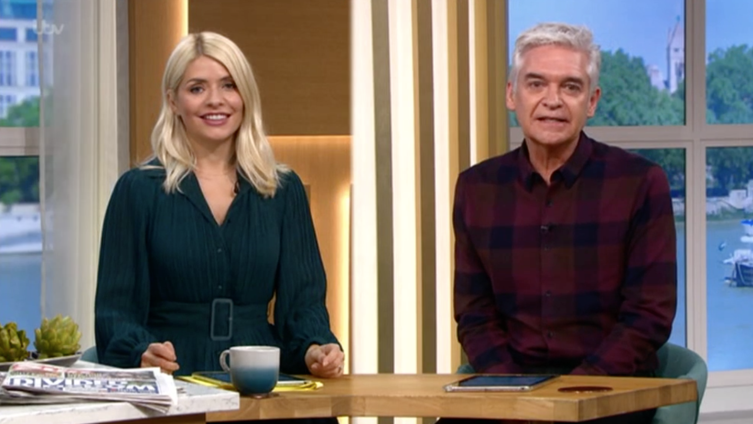 holly Willoughby debate