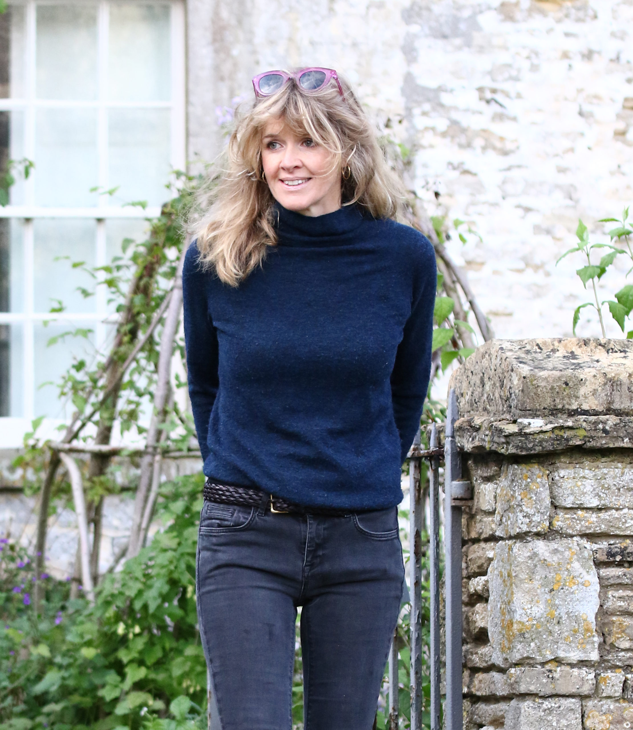 Dominic West's wife Catherine Fitzgerald