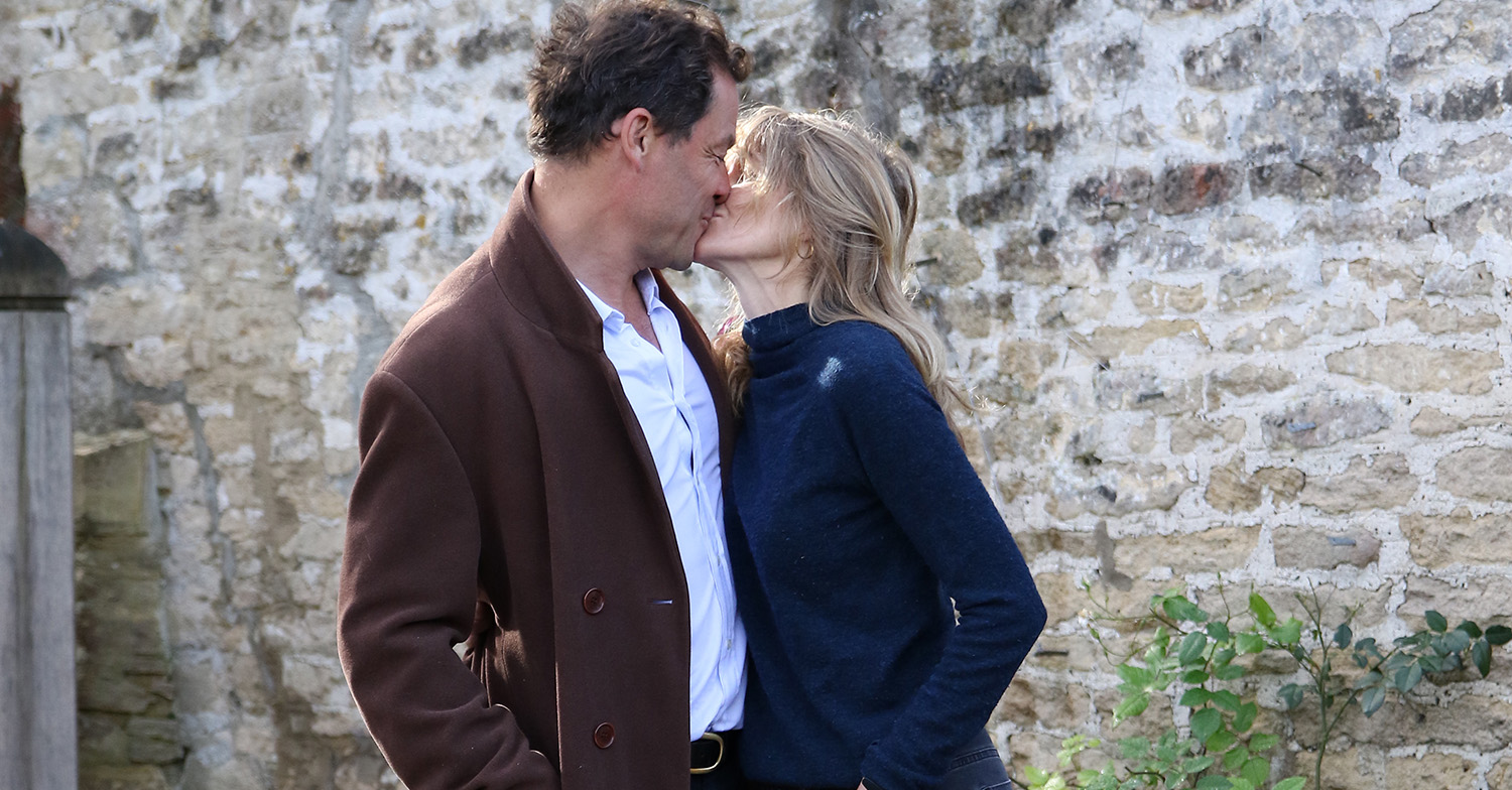 dominic west lily james wife