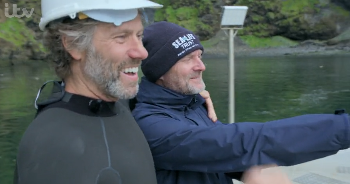 John Bishop's Great Whale Rescue ITV