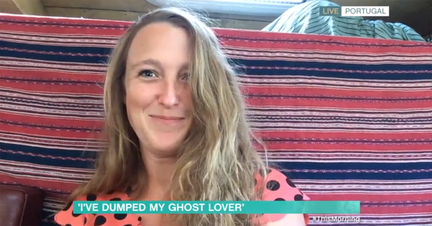 This Morning: Woman dumps ghost lover for 'partying too much'