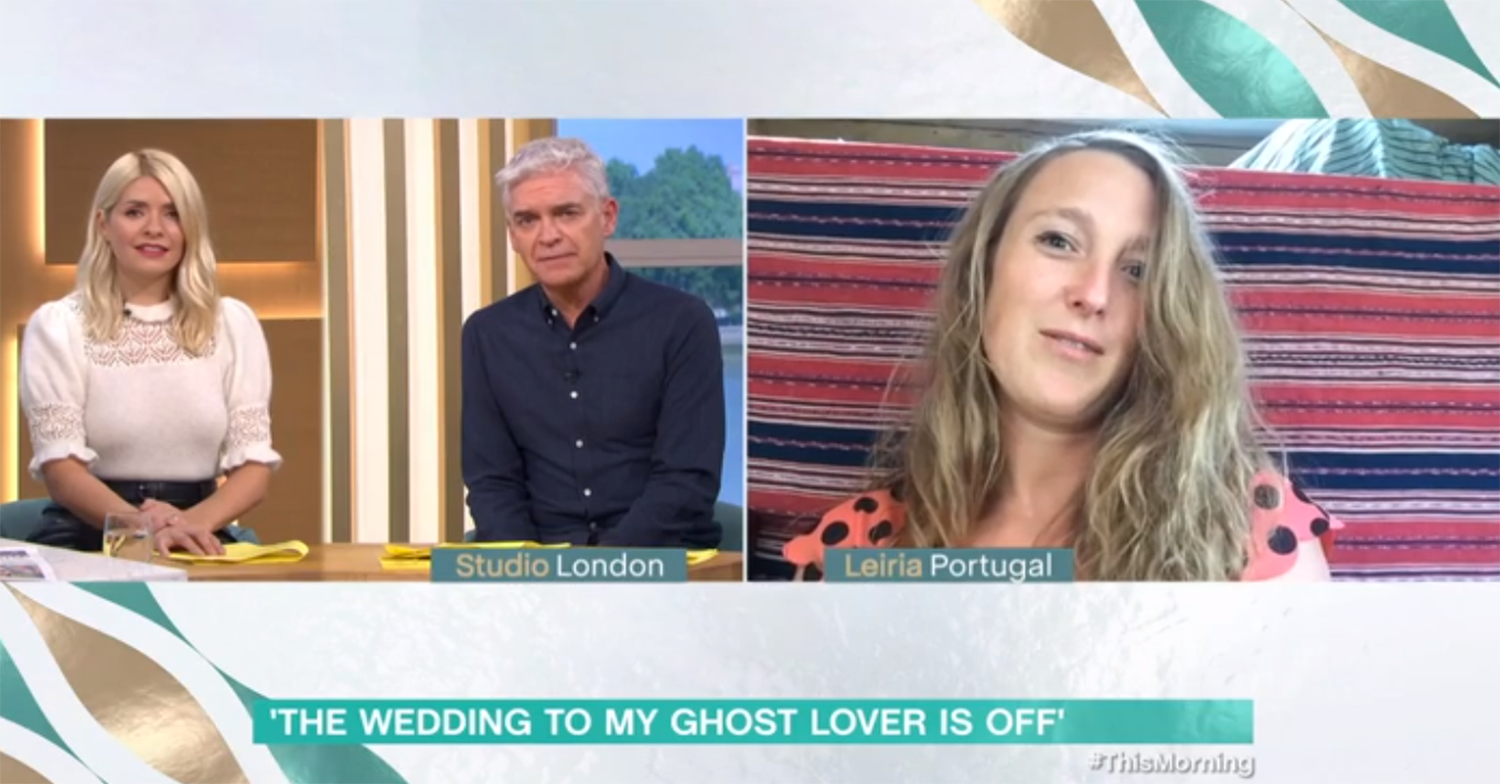 This Morning ghost lover