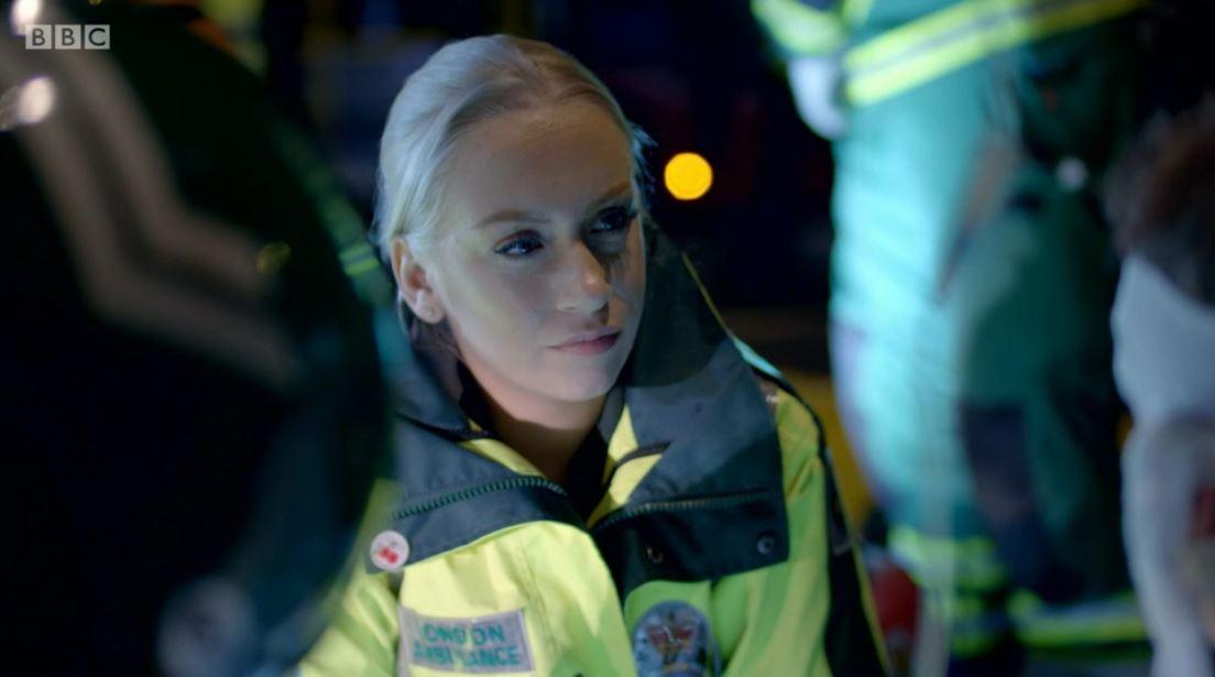 Ambulance BBC bus crash