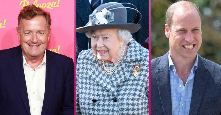 Piers morgan The queen