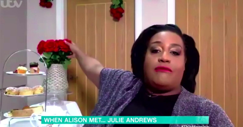 alison hammond julie andrews this morning