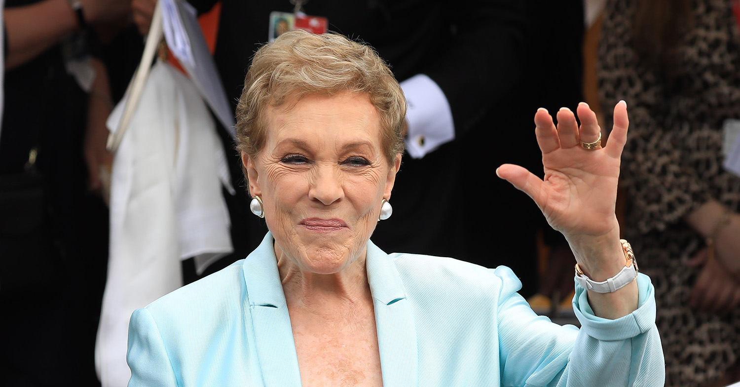 julie andrews this morning