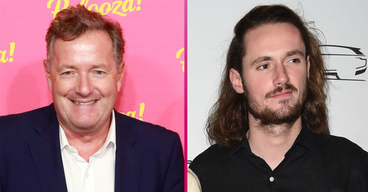 Piers Morgan son Spencer