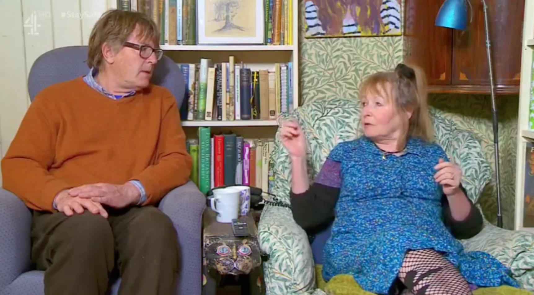 Giles and Mary Gogglebox