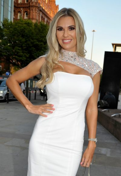 Christine McGuinness supports breast cancer charities