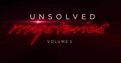 Unsolved Mysteries 2 is available to stream from Monday, October 19