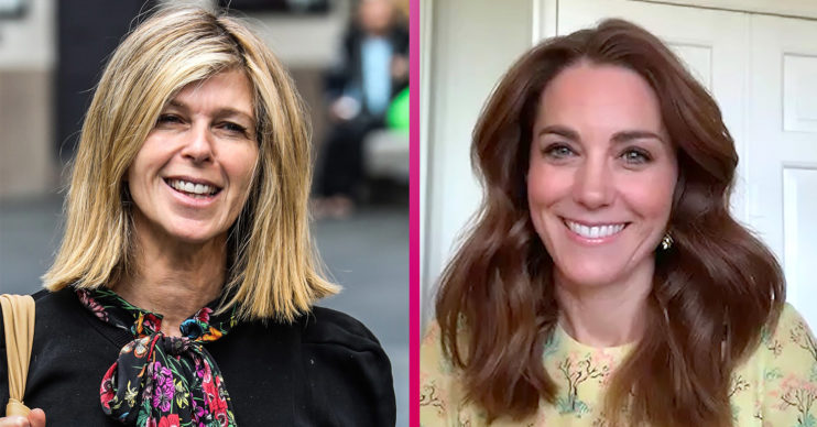 Kate Garraway and Kate Middleton