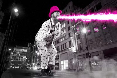 Keith Lemon promo shot for Celebrity Juice