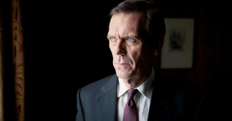 Hugh Laurie as Peter Laurence in Roadkill