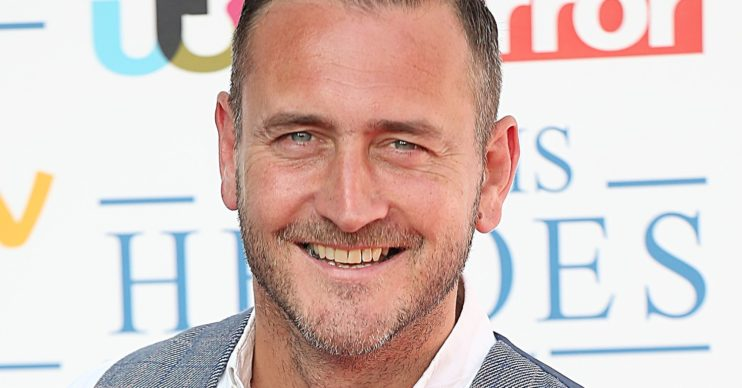 Will Mellor smiling on red carpet