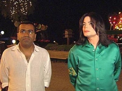 Martin Bashir and Michael Jackson interview