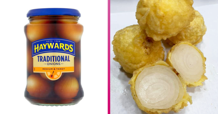 battered pickled onion