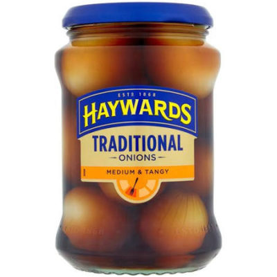 jar of Haywards pickled onions from sainsbury's
